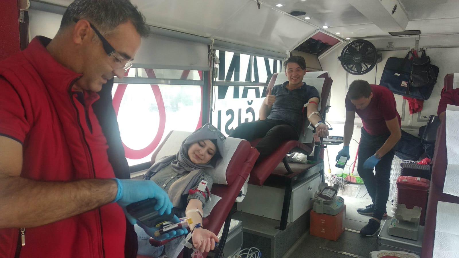 Kızılay Kan Bağışı Etkinliği
